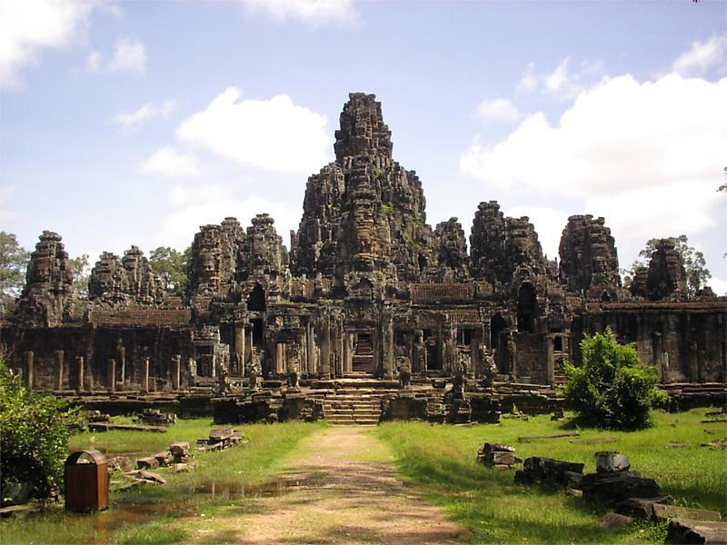 Ankor Wat i Cambodja