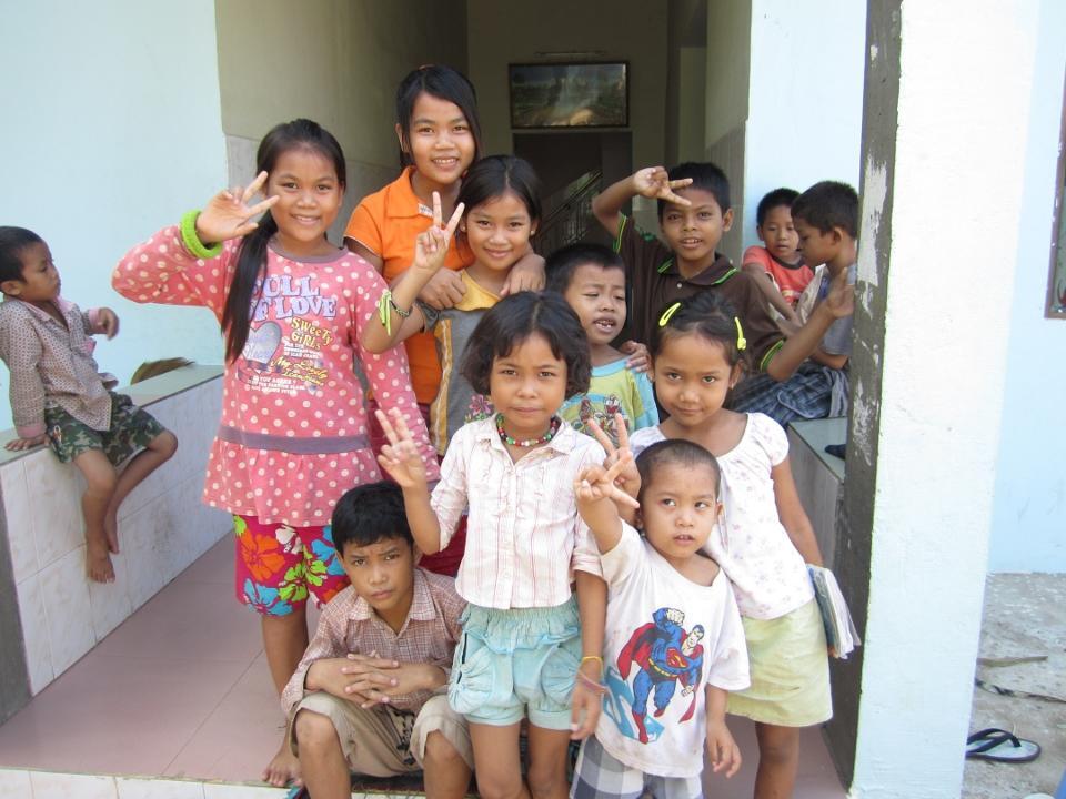 Cambodjanske børn