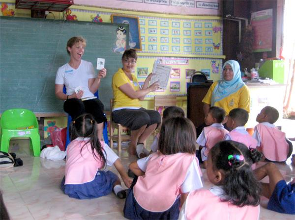 Frivillige på humanitært arbejde i udlandet