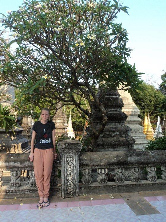 Frivillig på weekendtur i Cambodja