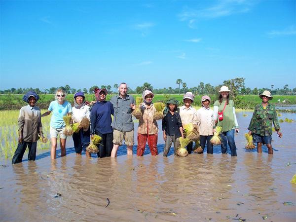 Frivilligt arbejde på Khmer projekt i Cambodja