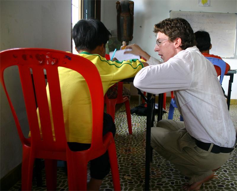 Frivillig lærer i Cambodja