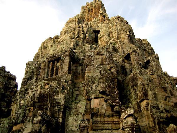 Tempel ved Ankor Wat i Cambodja