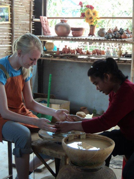 Ulandsfrivillig på humanitært arbejde