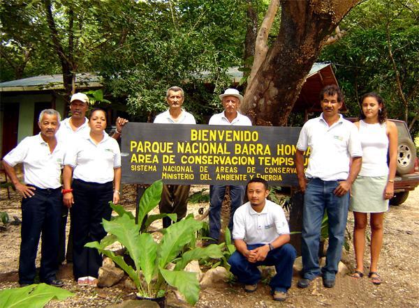 Frivillige på Natur & Miljø projekt i Costa Rica