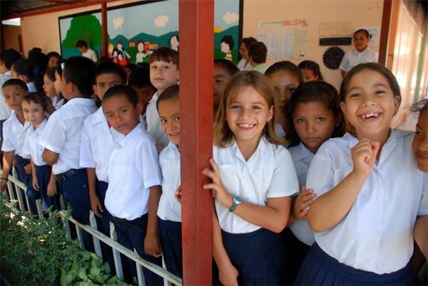 Børn i Costa Rica