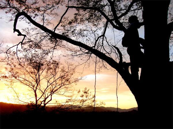 Solnedgang i Costa Rica