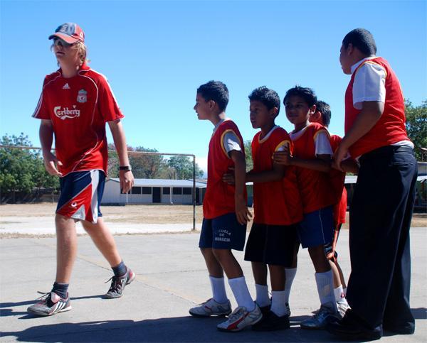 Frivillig på sportsprojekt i Costa Rica