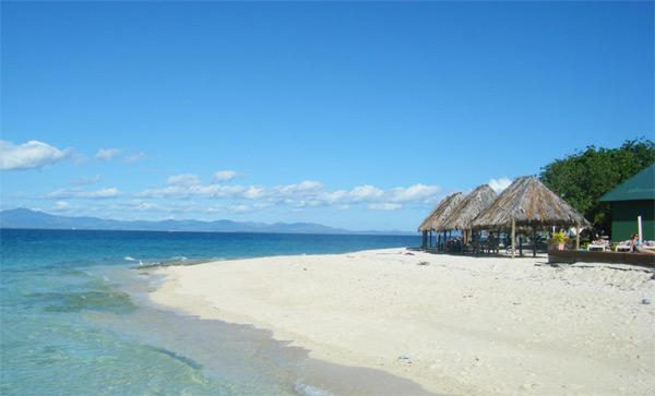 Pragtfuld strand på Fiji