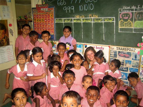Skoleelever på Fiji