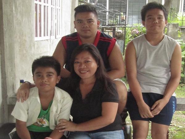 Filippinsk værtsfamilie