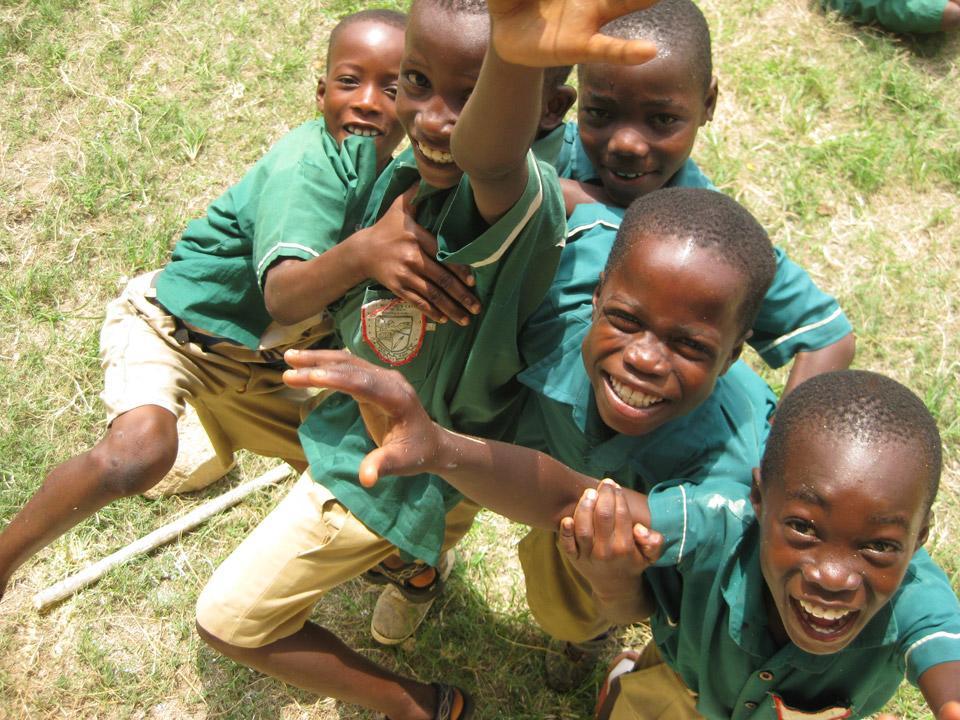Ghanesiske skoledrenge