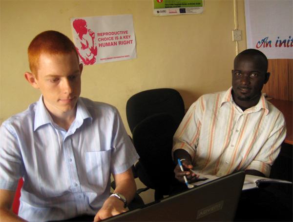 Frivillig på menneskerettighedsprojekt i Ghana