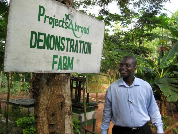 Demonstrationsgård i Ghana