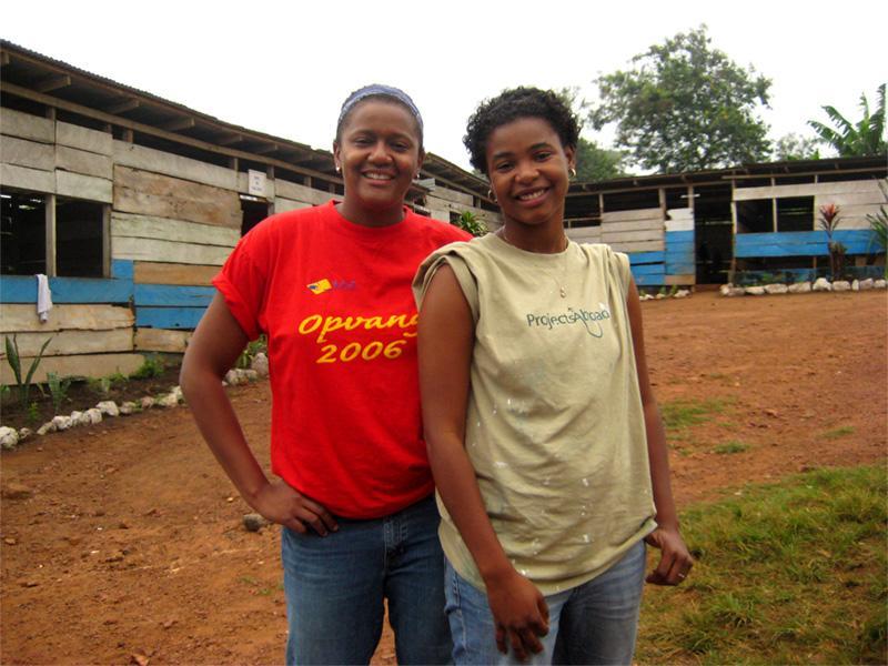 Malerarbejde i Akuapem Hills, Ghana