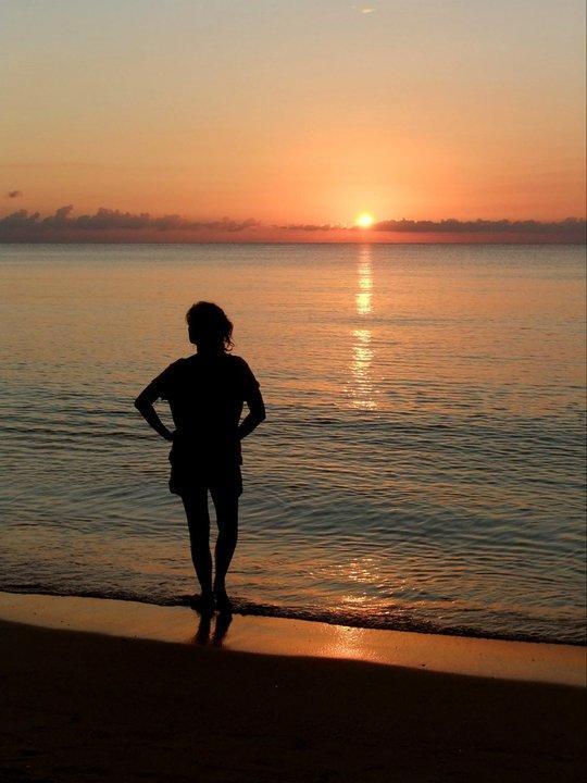 Jamaicansk solnedgang