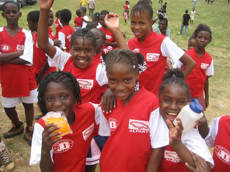 Sportshold på Jamaica