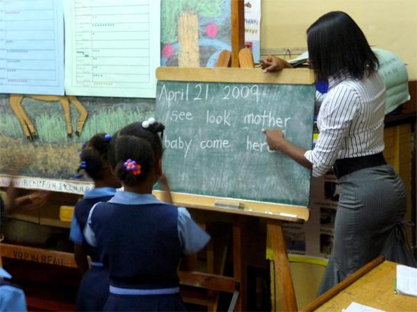 Frivillig lærer på Jamaica