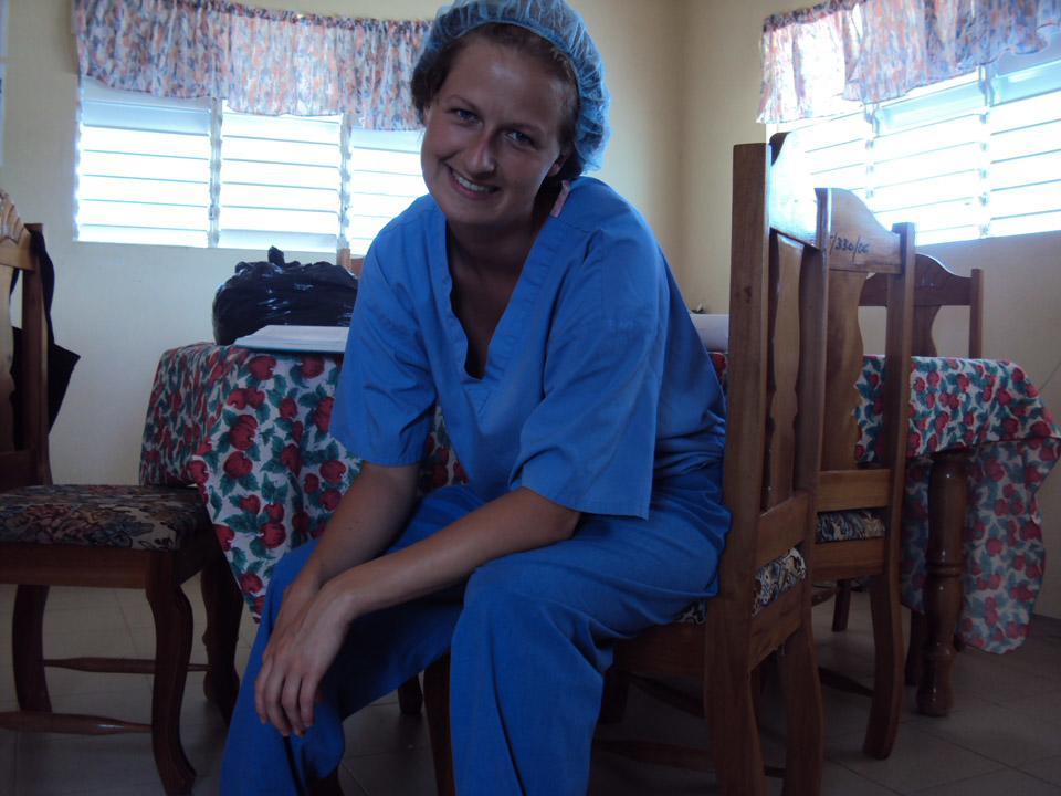 Ulandsfrivillig sygeplejerske på Jamaica
