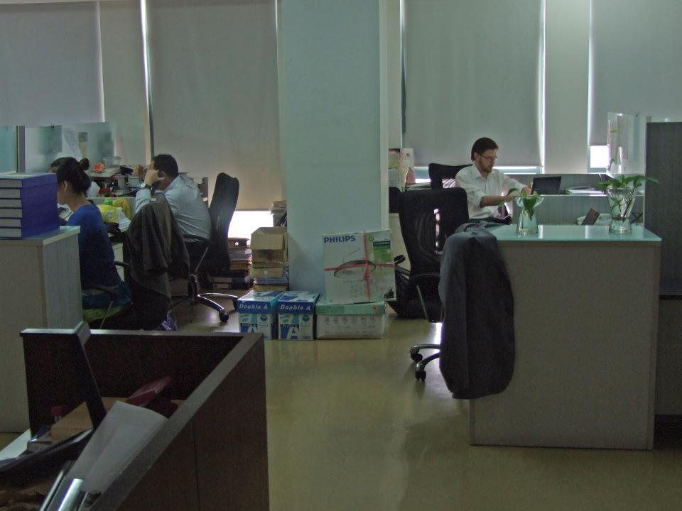 Frivillig arbejder på juraprojekt i Kina