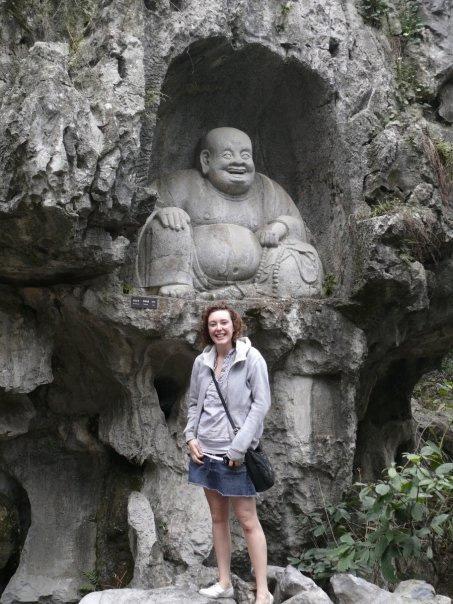 Frivillige på weekendtur i Kina