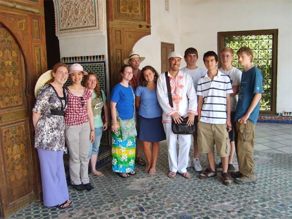 Frivillige på 2 Ugers Sommerkursus i Marokko