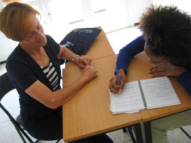Frivillig på fransk kursus i Marokko