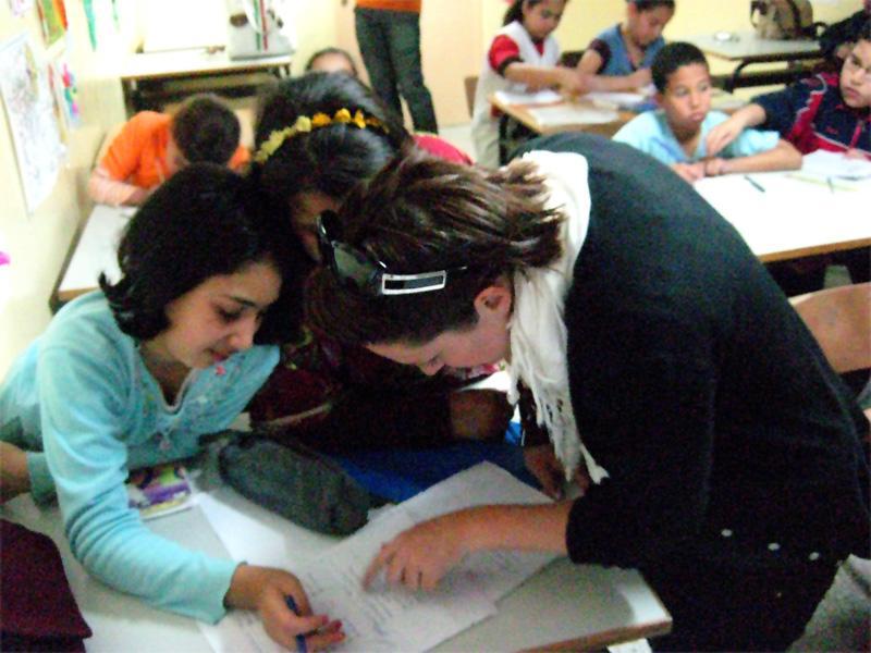 Frivillig underviser i Rabat