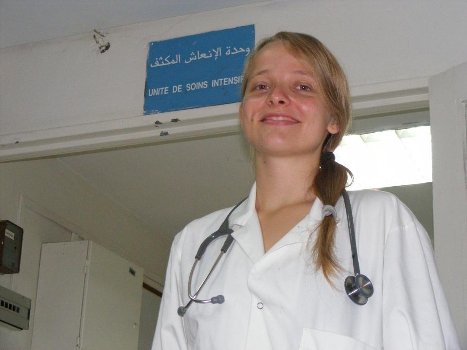 Ulandsfrivillig på hospital i Marokko