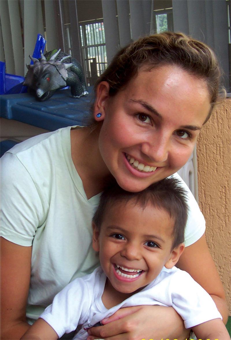 Frivillig på humanitært arbejde i Mexico