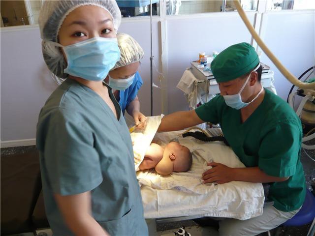 Frivillig på Medicin & Sundhedsprojekt med nyfødt