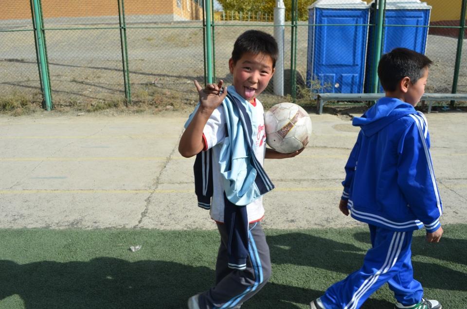 Mongolianske børn