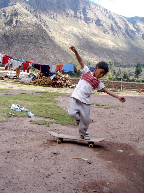 Nepalesisk barn
