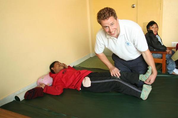 Praktikant på fysioterapeutisk projekt i Nepal