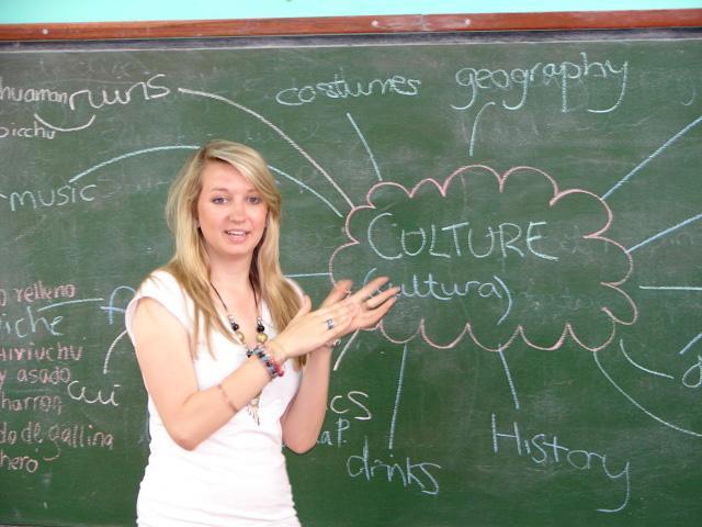 Frivillig underviser i Peru