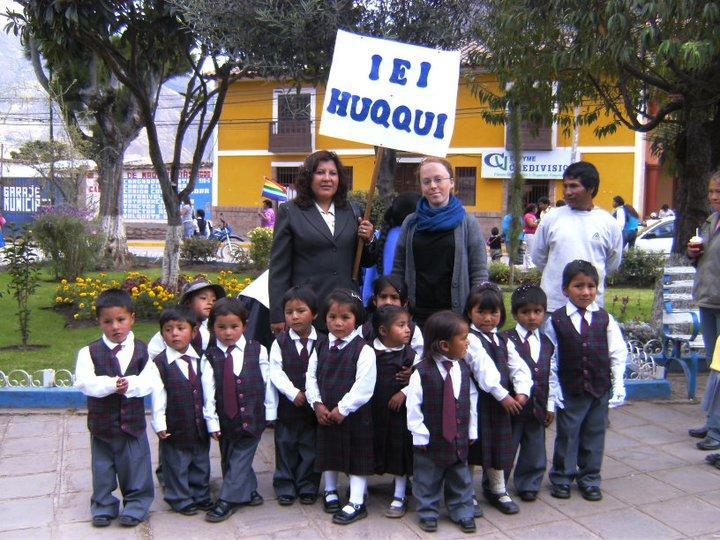 Volontør på humanitært arbejde i Peru