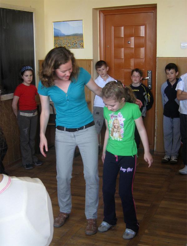 Frivillig på drama projekt i Rumænien