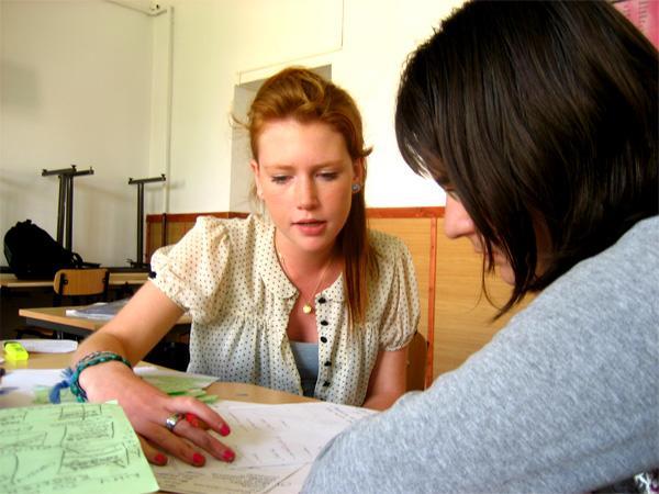 Frivillig underviser i Rumænien