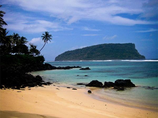 Samoas smukke strande