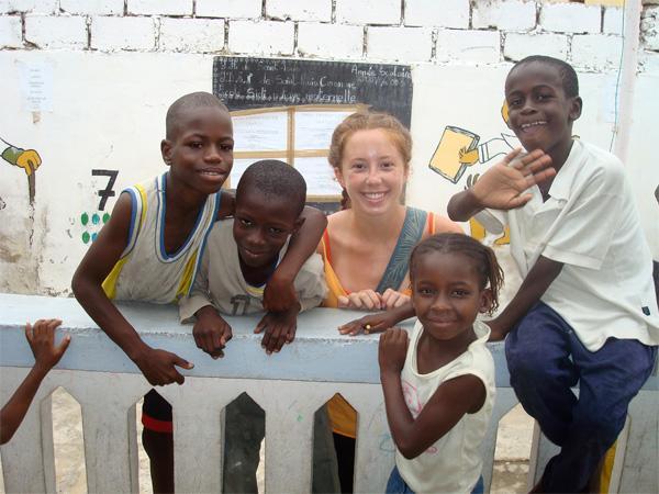 Frivillig på humanitært arbejde i Senegal