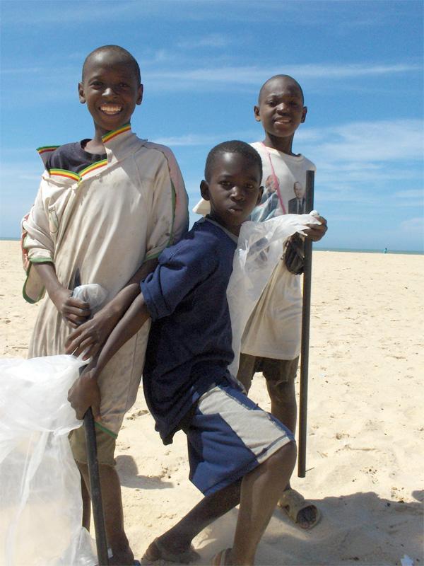 Børn i Senegal