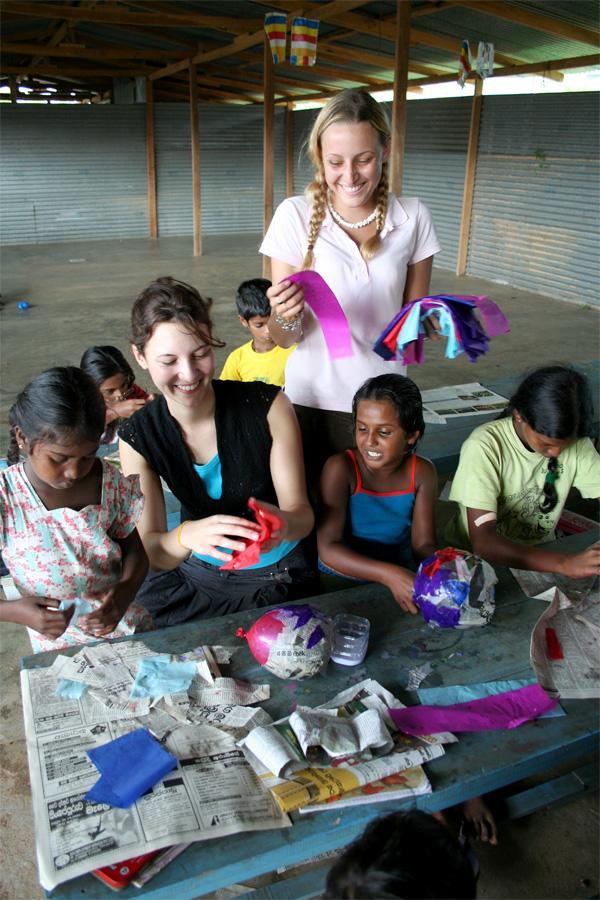 Humanitært arbejde i Sri Lanka