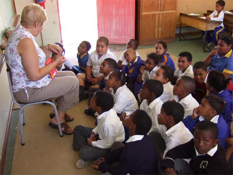 Frivillig lærer i Sydafrika
