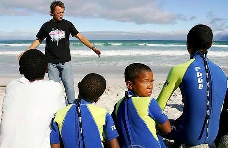 Frivillig på sports projekt i Sydafrika