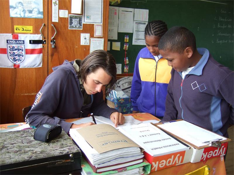 Frivillig underviser i Cape Town