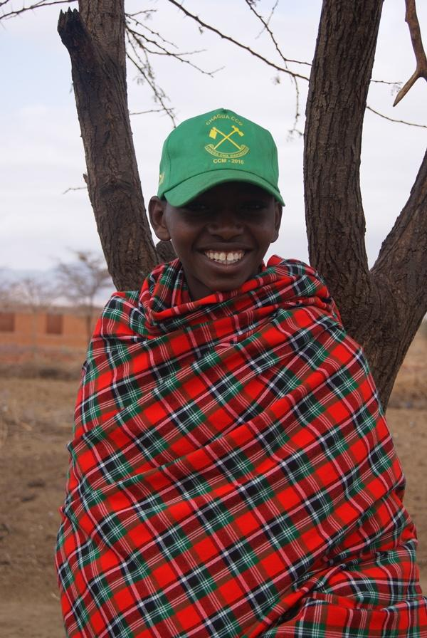 Tanzaniansk dreng