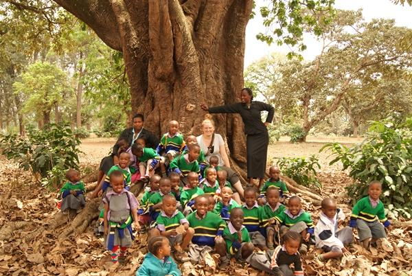Klasseværelse i Tanzania