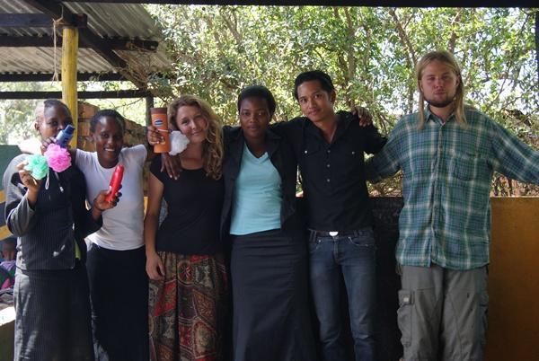 Volontører i Tanzania