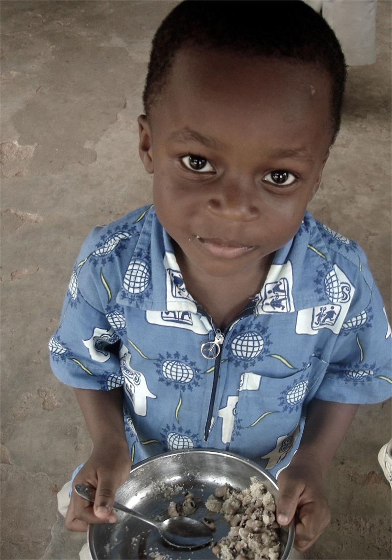Barn i Togo