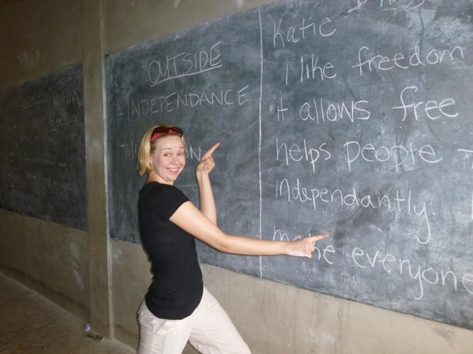 Frivillig på undervisningsprojekt i Togo
